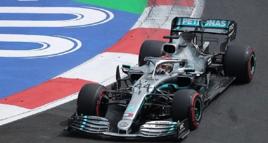 Hamilton ganó en México y quedó a un paso de un nuevo título