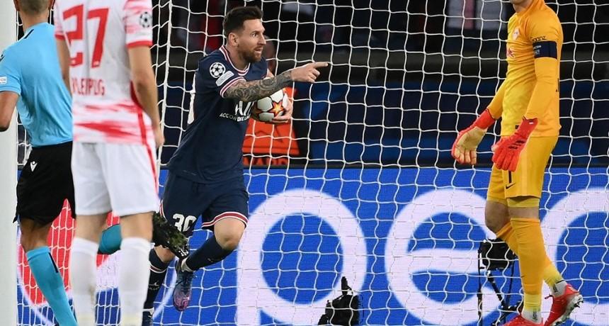 El PSG lo dio vuelta al partido y derrotó al Leipzig