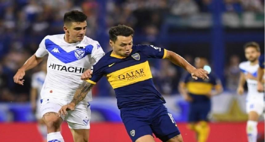 Boca empató con Vélez