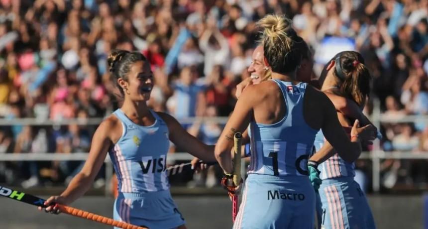 las Leonas vencieron a Alemania en el regreso de Delfina Merino a la selección argentina