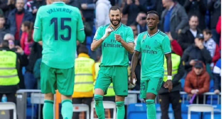 Real Madrid ganó, es líder al vencer al Espanyol