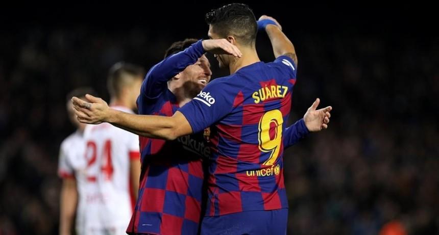 El Barca destrozo al Mallorca en un festival de goles