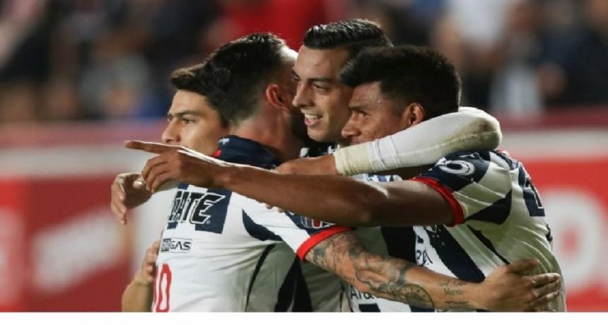 Rayados de Monterrey gano 1-0 sobre el Necaxa
